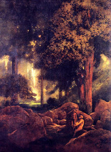 Maxfield Parrish - La Chimera