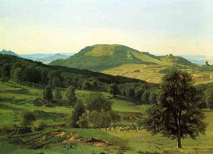 Albert Bierstadt - Hill and Dale