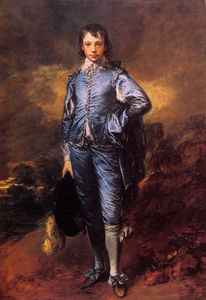 Thomas Gainsborough - Ritratto Jonathan Buttall-The ragazzo blu