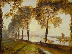 William Turner - Mortlake terrazza