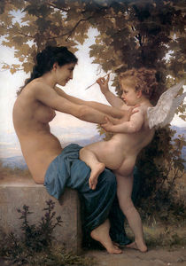 William Adolphe Bouguereau - Jeune fille se più accusato contre l'amore