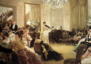 James Jacques Joseph Tissot - Il concerto