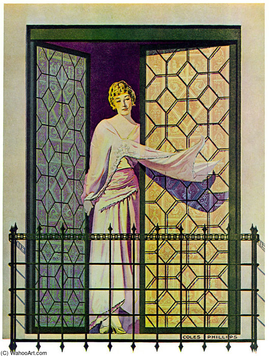 Untitled (818) di Coles Phillips (1880-1927, United States)