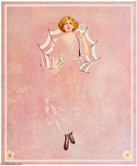 Untitled (554) di Coles Phillips (1880-1927, United States)