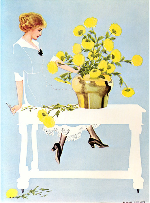 Untitled (517) di Coles Phillips (1880-1927, United States)