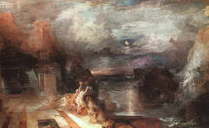 William Turner - Ero e Leandro