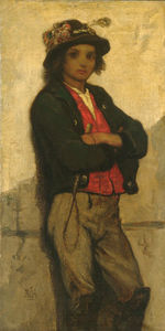 William Morris Hunt - italiano ragazzo
