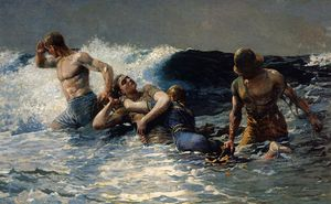 Winslow Homer - Undertow homer Winslow