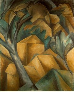 Georges Braque - Case a L-Estaque , Kunstmuseum Berna