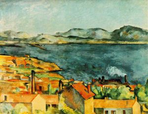Paul Cezanne - The Bay da L Estaque