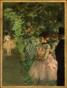 Edgar Degas - ballerini backstage , ng washington