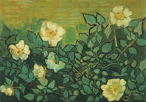 Vincent Van Gogh - Roses sauvages