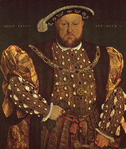 Hans Holbein The Younger - ritratto henry viii , Galleria
