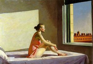 Edward Hopper - mattino sole Colombo  museo  di  arte  Colombo