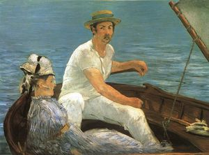 Edouard Manet - Canottaggio, Metropolitan Museum of Art di New York