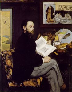 Edouard Manet - Ritratto d-Emile Zola , Musee d-Orsay