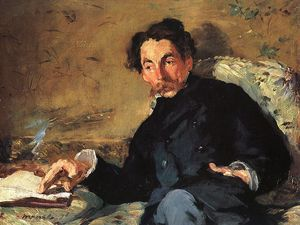 Edouard Manet - Ritratto di Stéphane Mallarmé, Musée d Orsay, Pa