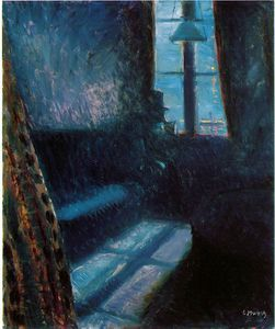 Edvard Munch - notte in Cattedrale di St  nuvola