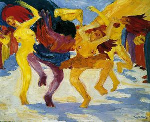 Emile Nolde - Golden Calf