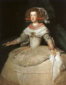 Diego Velazquez - maría teresa di spagna 'With Due Watches' , Arte Hist