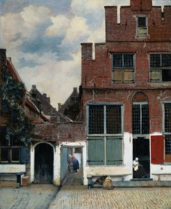 Jan Vermeer - piccolo via