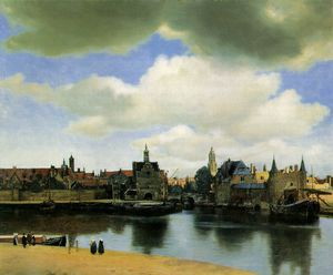 Jan Vermeer - Vista delft