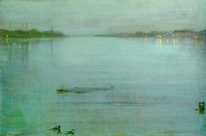 James Abbott Mcneill Whistler - Cremorne luci