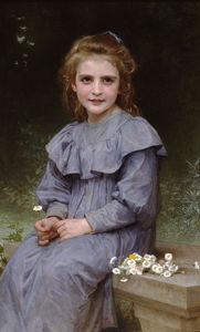 William Adolphe Bouguereau - Paquerettes