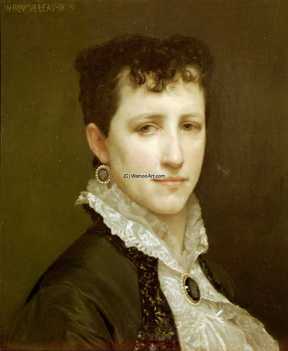 ritratto di miss elizabeth gardner Bouguereau di William Adolphe Bouguereau (1825-1905, France)
