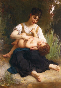 William Adolphe Bouguereau - Le gioie di  maternit?