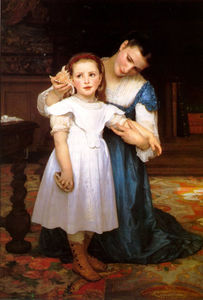 William Adolphe Bouguereau - La conchiglia
