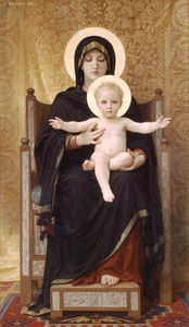 William Adolphe Bouguereau - il seduti madonna