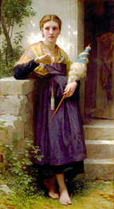 William Adolphe Bouguereau - Il Spinner