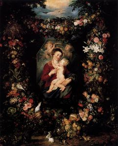 Jan Brueghel The Elder - madonna col bambino