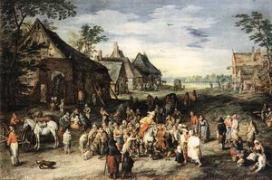 Jan Brueghel The Elder - St Martin