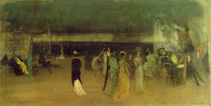 James Abbott Mcneill Whistler - Cremorne giardini