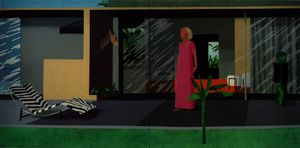 David Hockney - Beverly colline housew