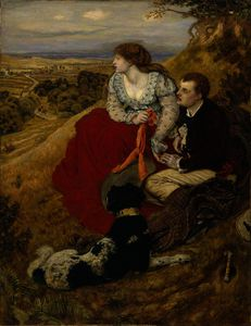 Ford Madox Brown - Byron-s sogno