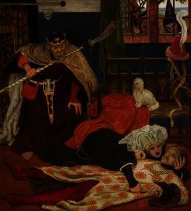 Ford Madox Brown - la morte di Signore Tristram