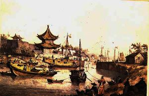 Alexander William - Il Canal Grande in Cina