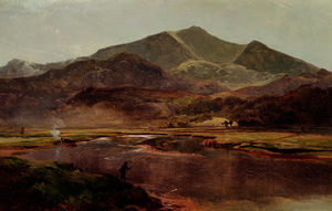 Alfred Walter Williams - Lago windermere