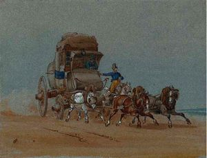 Charles Cooper Henderson - la stagecoach