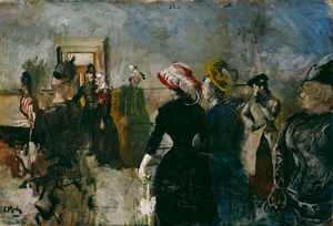 Christian Krohg - Albertine