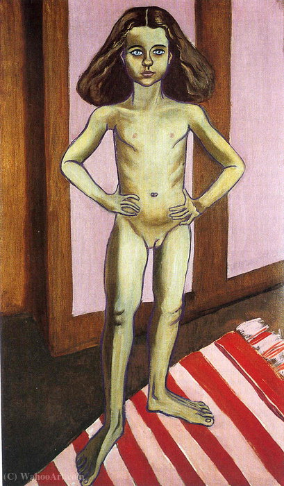 Untitled (179) di Alice Neel (1900-1984, United States) |  | WahooArt.com