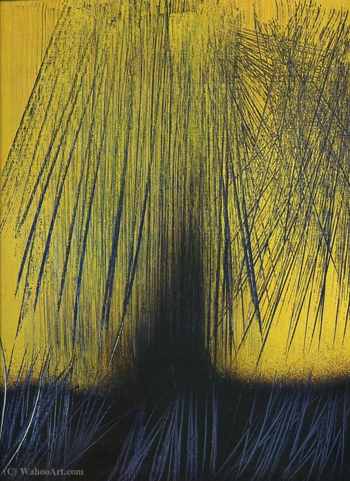 Untitled (611) di Hans Heinrich Hartung (1904-1989, Germany)
