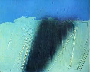 Hans Heinrich Hartung - Untitled (580)