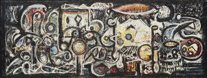 Richard Pousette-Dart - Numero Fugue