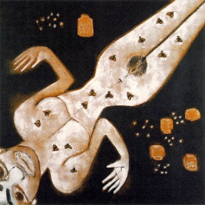 Untitled (131) di Francesco Clemente | WahooArt.com