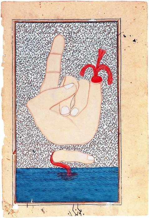 Untitled (963) di Francesco Clemente