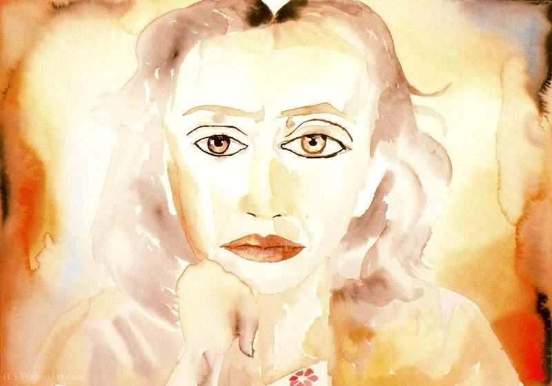 Untitled (819) di Francesco Clemente